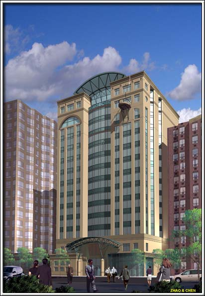 Commercial: River Front Towers - Windsor Ontario